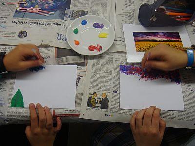 Kunstunterricht in der IGS Badenstedt